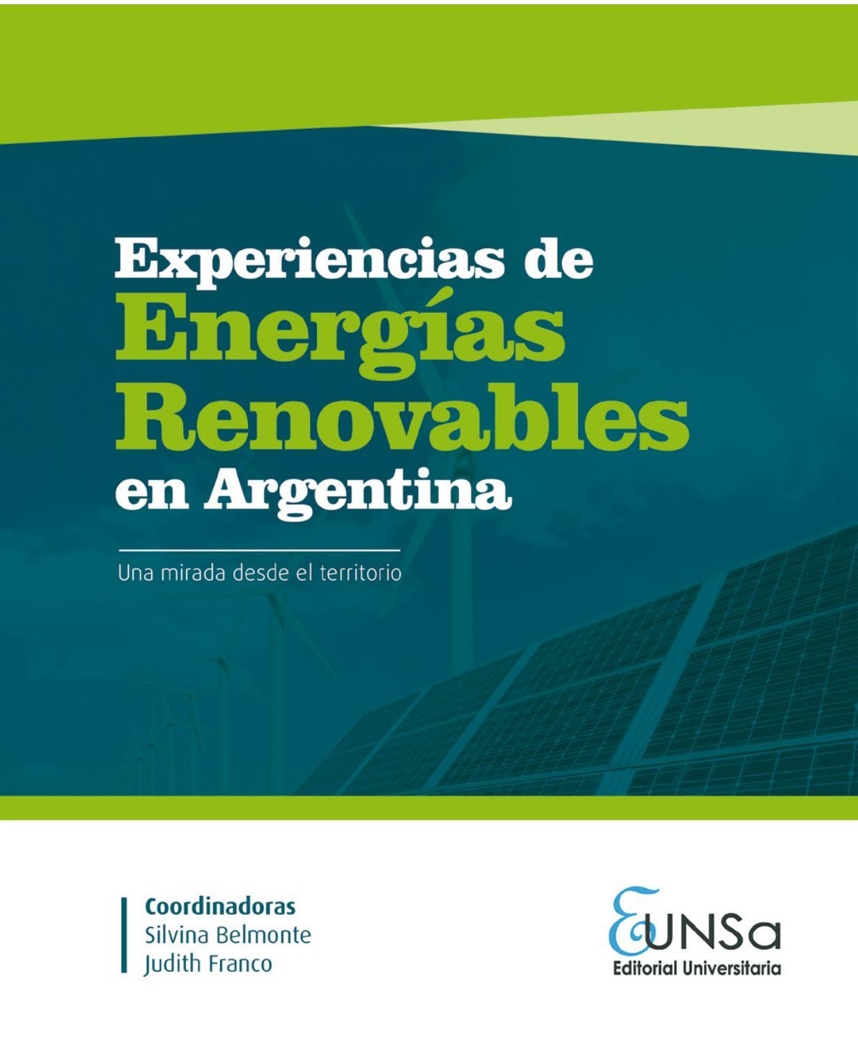 Experiencias de Energías Renovables en Argentina by Silvina Belmonte ...