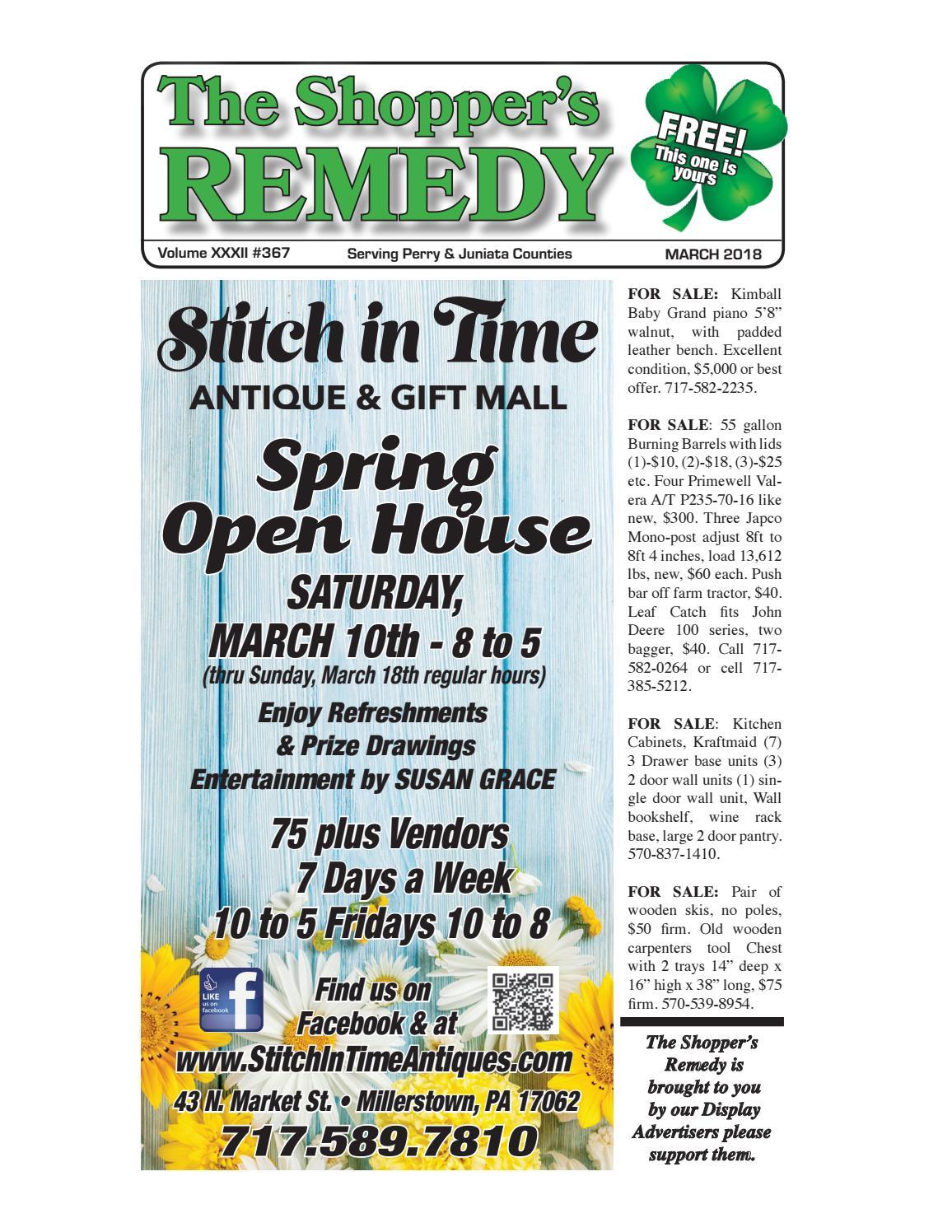 Shopper\'s Remedy March 2018 by Robin Noll - issuu