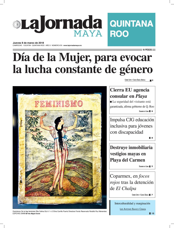 b060983c010 La jornada maya jueves 8 de marzo de 2018 by La Jornada Maya - issuu