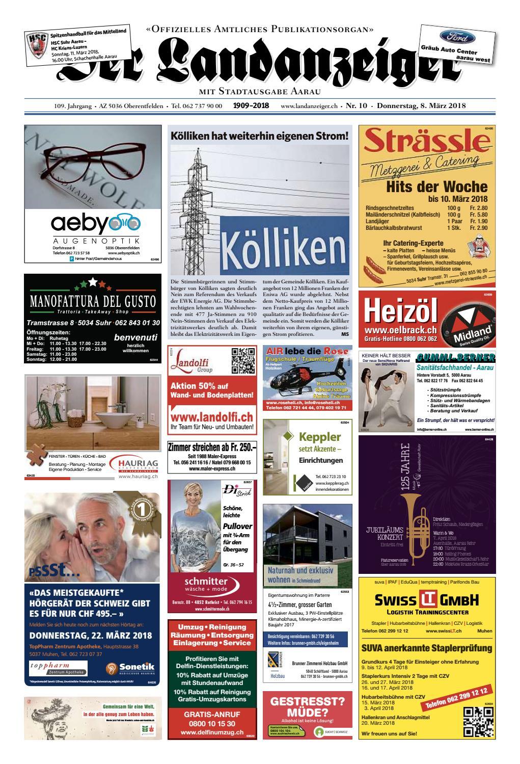 Der Landanzeiger 10 18 By Zt Medien Ag Issuu