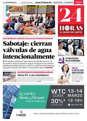 08 | Marzo | 2018 by Información Integral 247 SAPI de C.V.