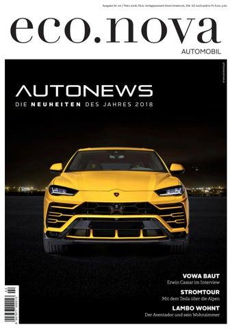 eco.nova SPEZIAL Auto 2018 by eco.nova verlags gmbh - issuu