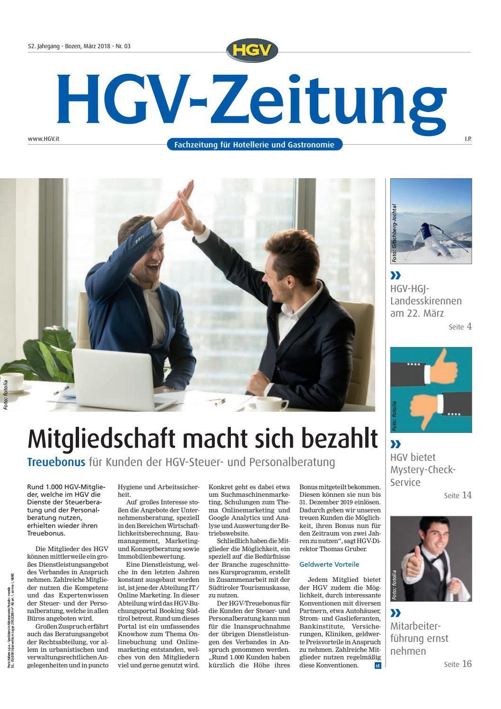 März-Ausgabe der HGV-Zeitung by HGV-Service Genossenschaft - issuu