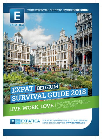 expat survival guide belgium 2018 by expatica issuu