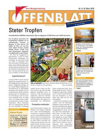 Offenblatt 09 2018 By Offenburg Offenblatt Issuu