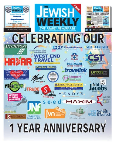 138c70f9af4 The jewish weekly 043 by The Jewish Weekly - issuu