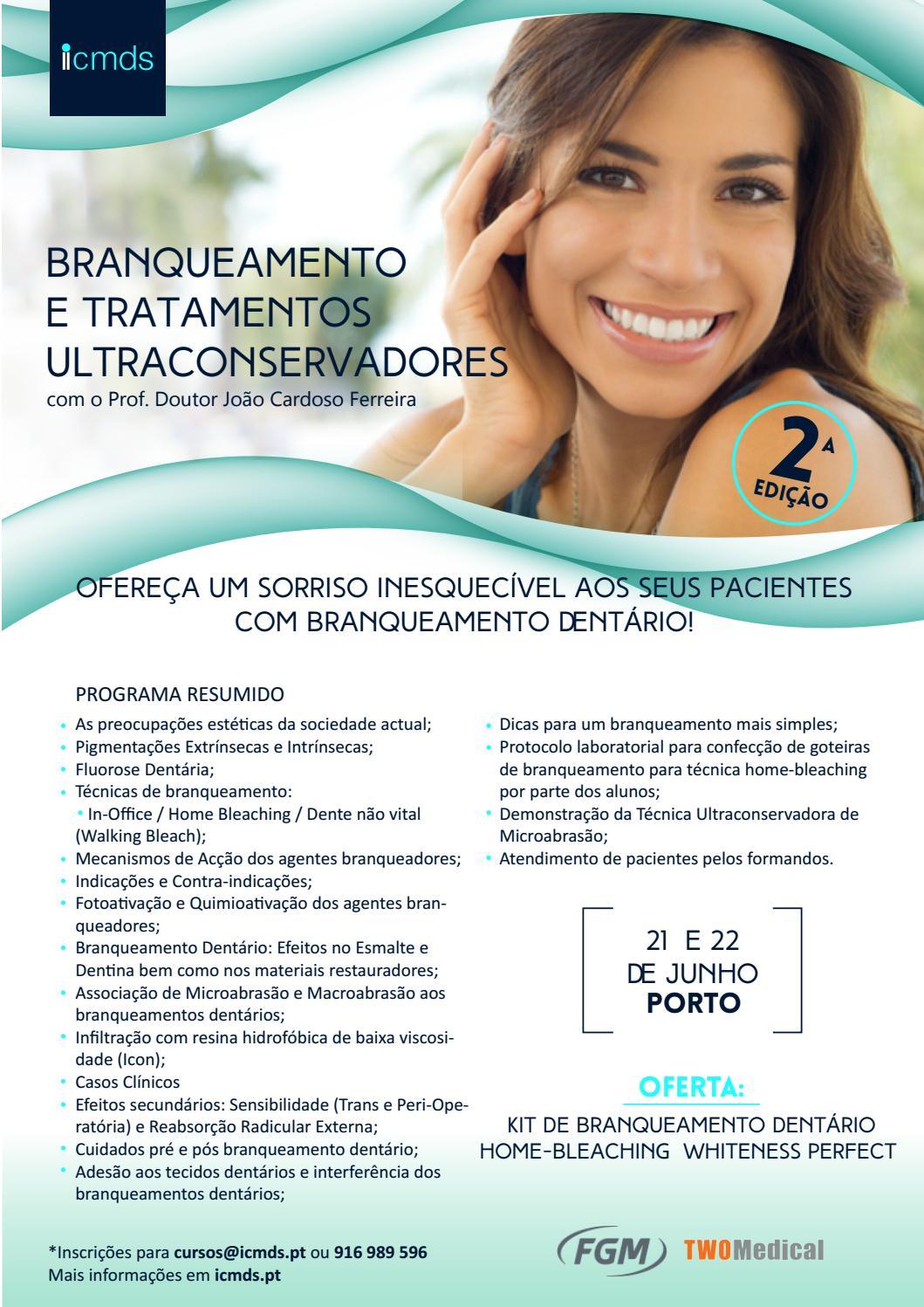 Branqueamento E Tratamentos Ultraconservadores By Two Medical Issuu