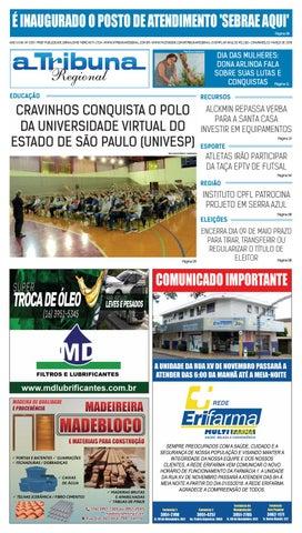 4cbc37799b32e jornal A Tribuna Regional de Cravinhos by Leandro Cavalcanti - issuu