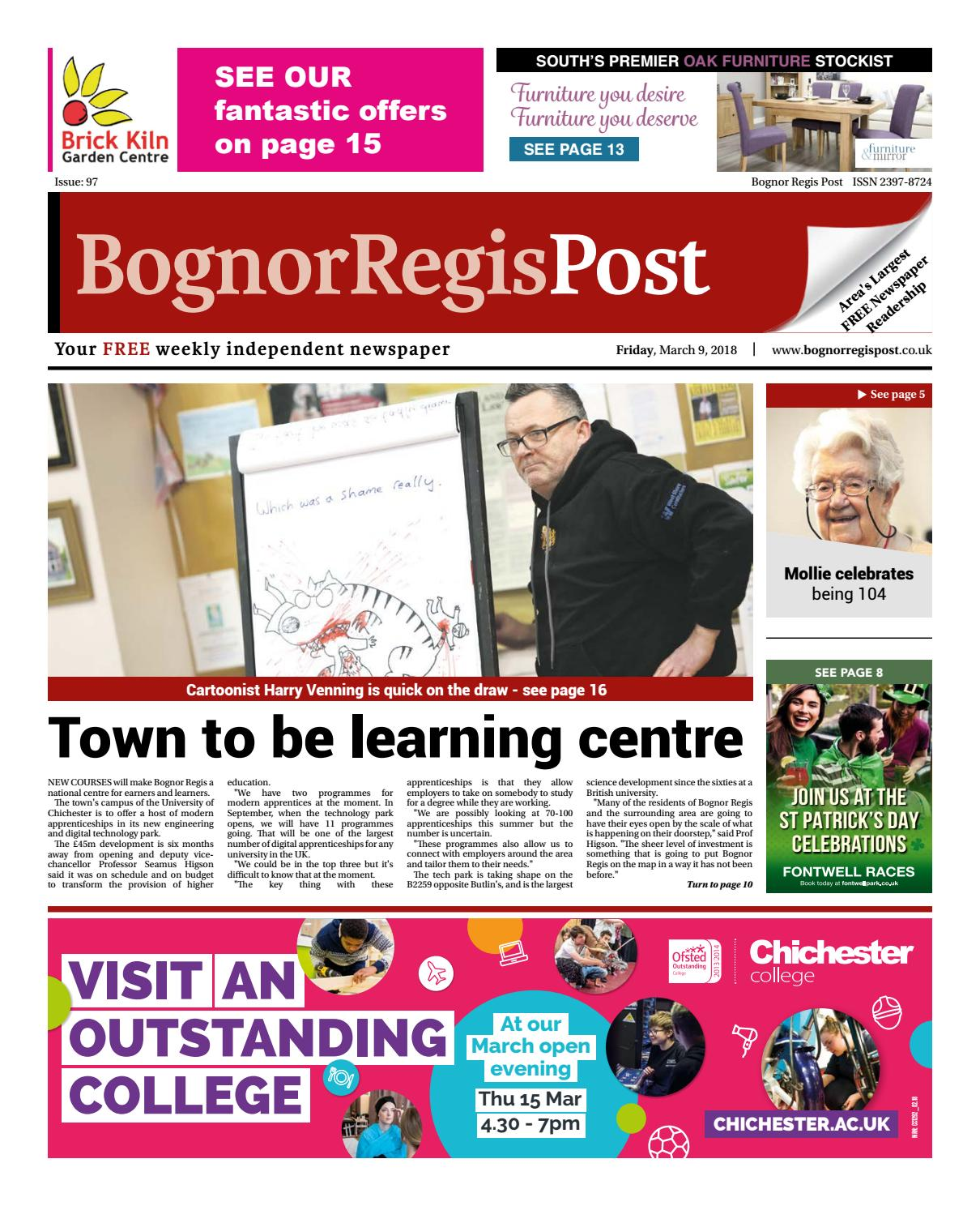 Bognor Regis Post Issue 97 by Post Newspapers - issuu