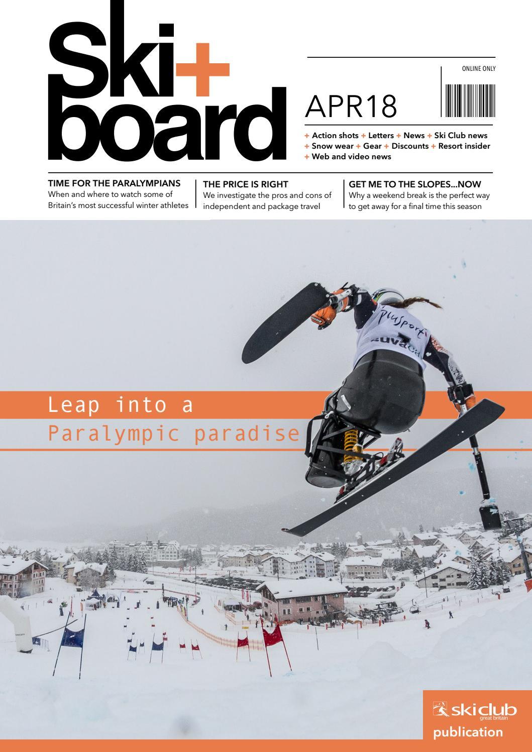 Ski+board April 2018 by Ski Club of Great Britain - issuu