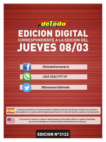 Semanario Detodo Edición N° 3122 08032018 by Semanario