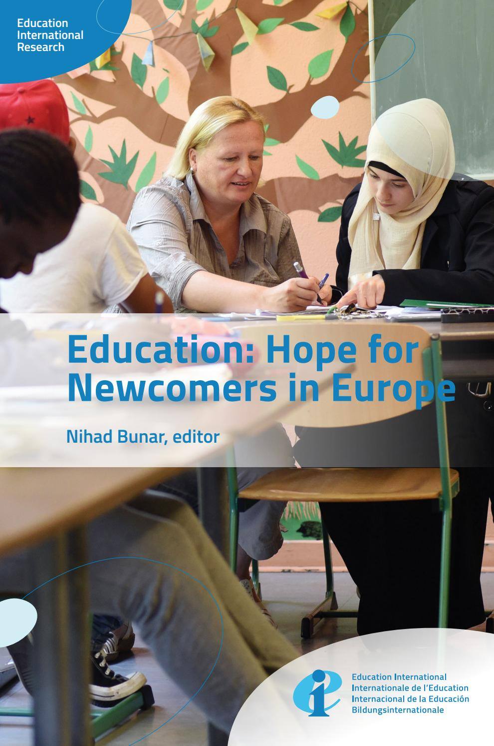 Lavoro A Manchester 2017 education: hope for newcomers in europe by education