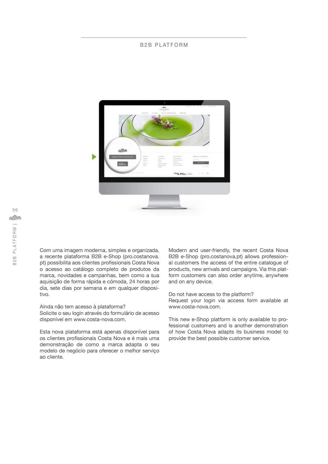 Vajilla costa nova catalogo general 2018 by Servitel - issuu