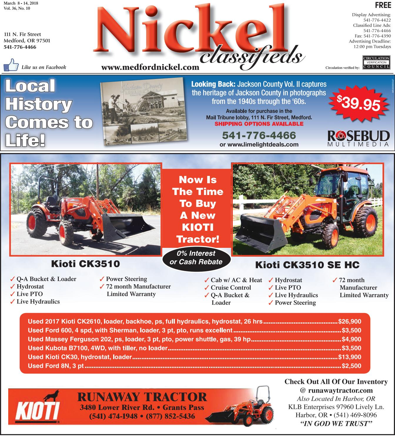 March 8, 2018 Nickel Classifieds by The Nickel - issuu