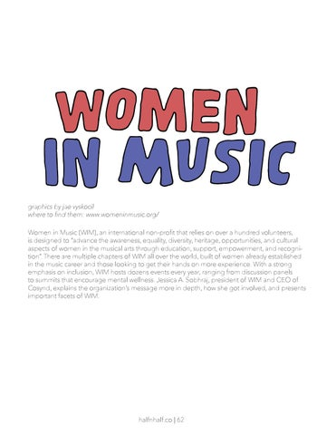 Page 62 of Women in Music