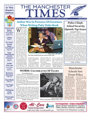 2018-03-10 - The Manchester Times by Micromedia Publications Jersey ... 99fe23398