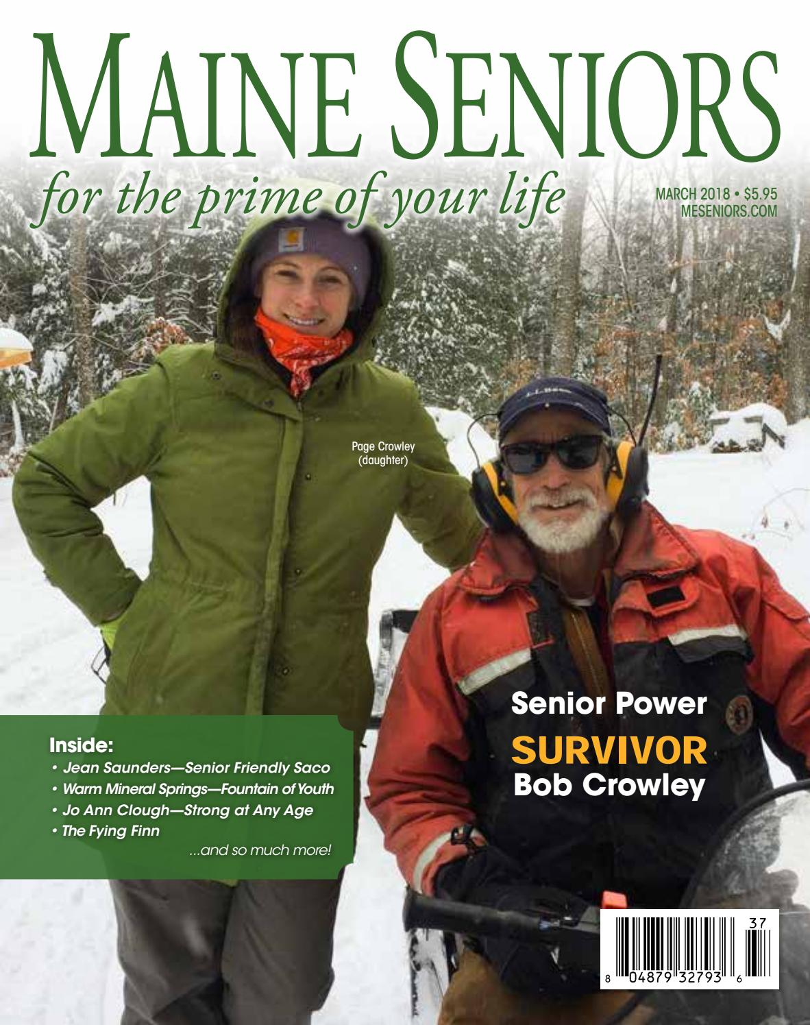 March 2018 Maine Seniors Magazine