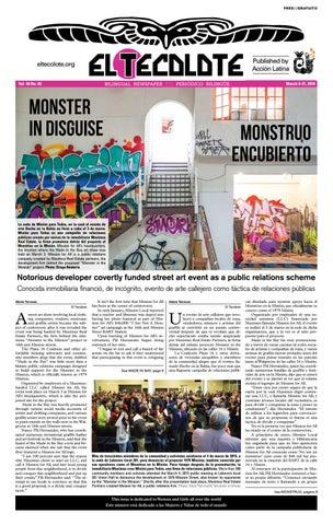 El Tecolote Vol 48 Issue 5 By El Tecolote Issuu
