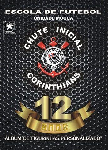 Álbum de Figurinhas Personalizado - Chute Inicial Corinthians  ab1dc8a2d014e