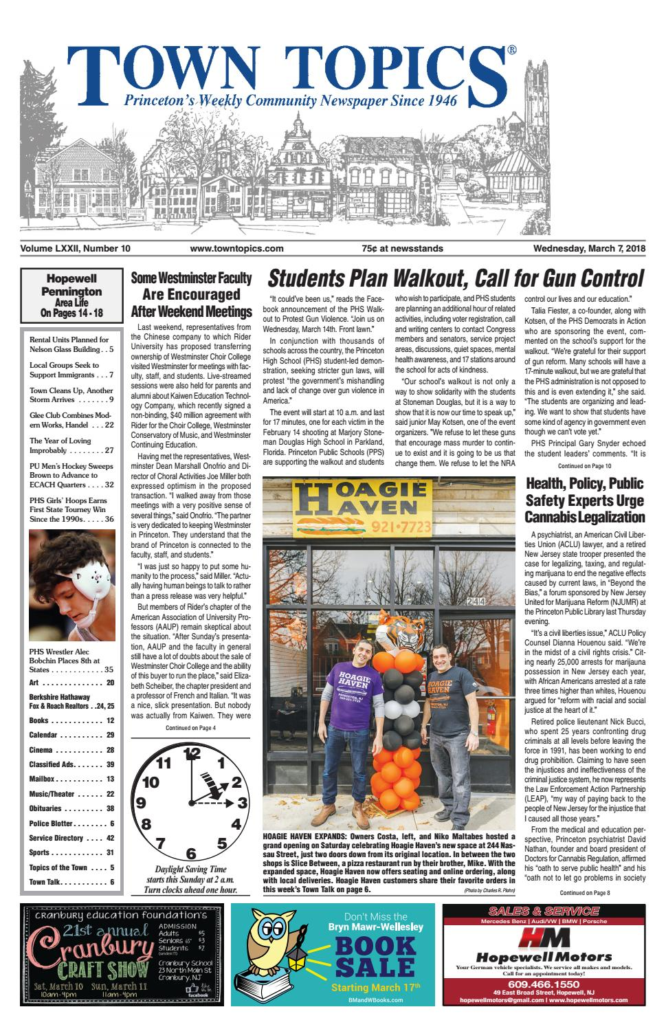 4cddee07d6d1 Town Topics Newspaper March 7