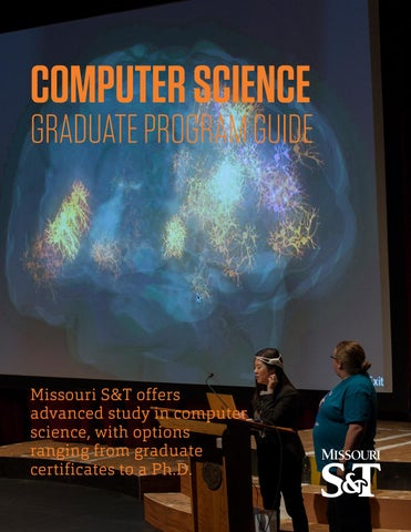 Computer Science Graduate Brochure by Missouri S&T Computer