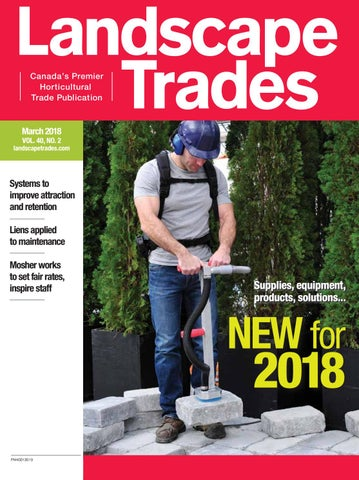 March 2018 Landscape Trades