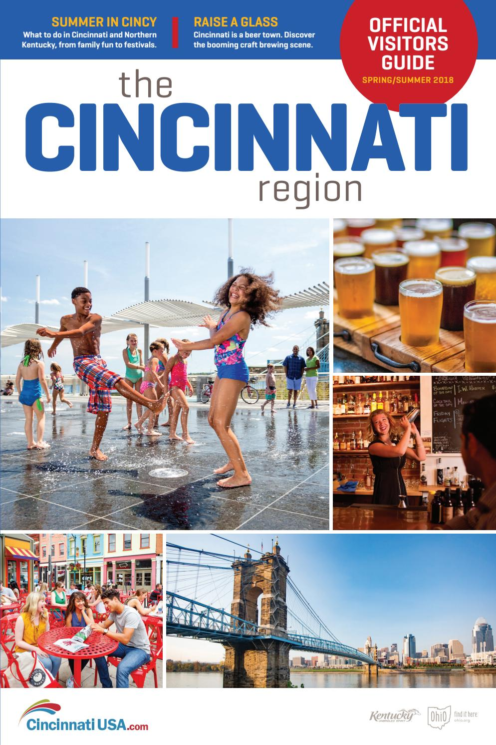 Ficial Visitors Guide Spring Summer 2018 Cincinnati USA By