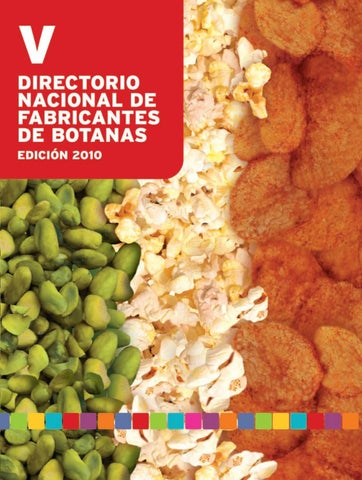 c3e008f2c Directorio de proveedores de alimentos y botanas by Super Industrial ...
