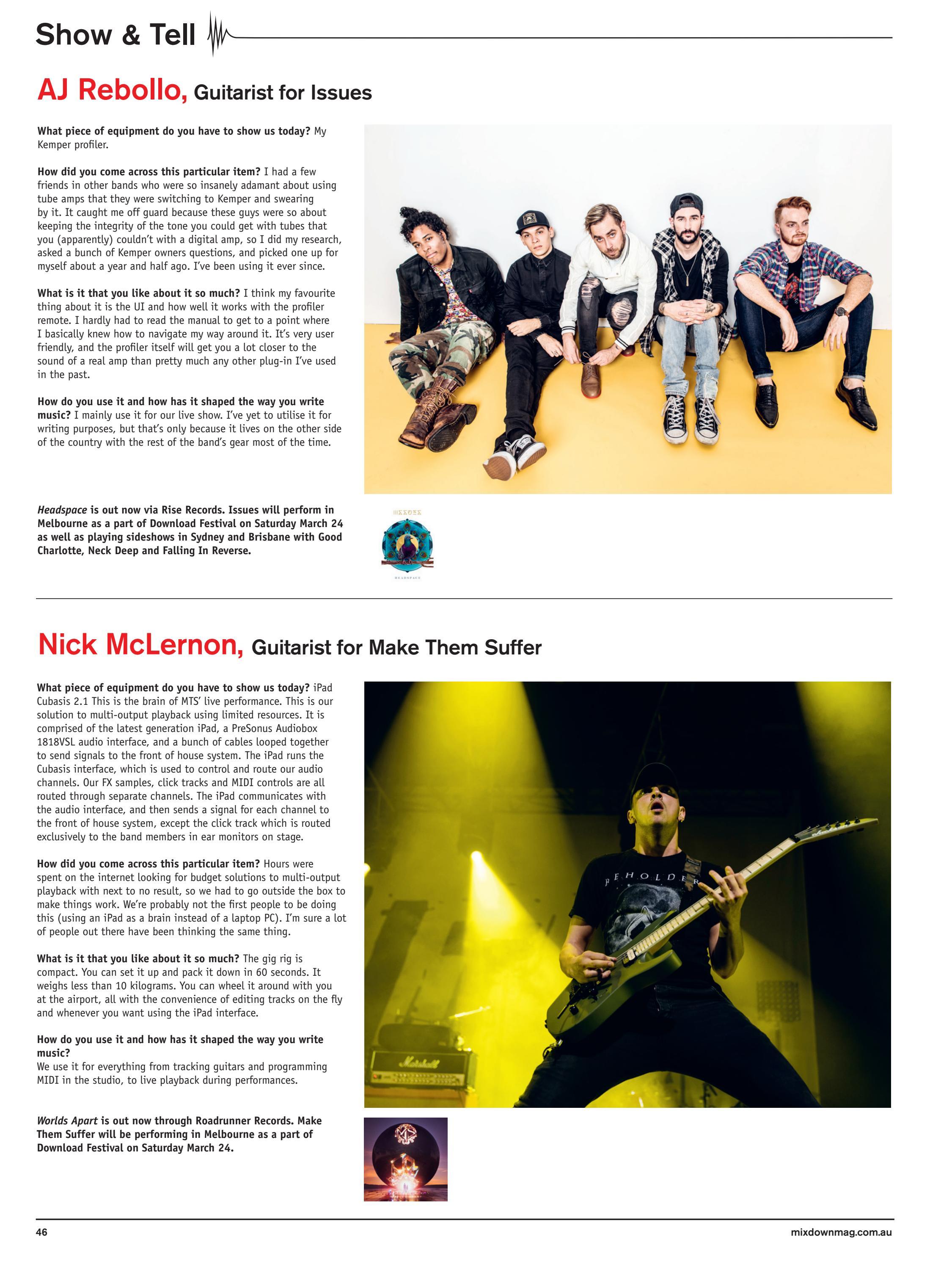 Mixdown Magazine 287