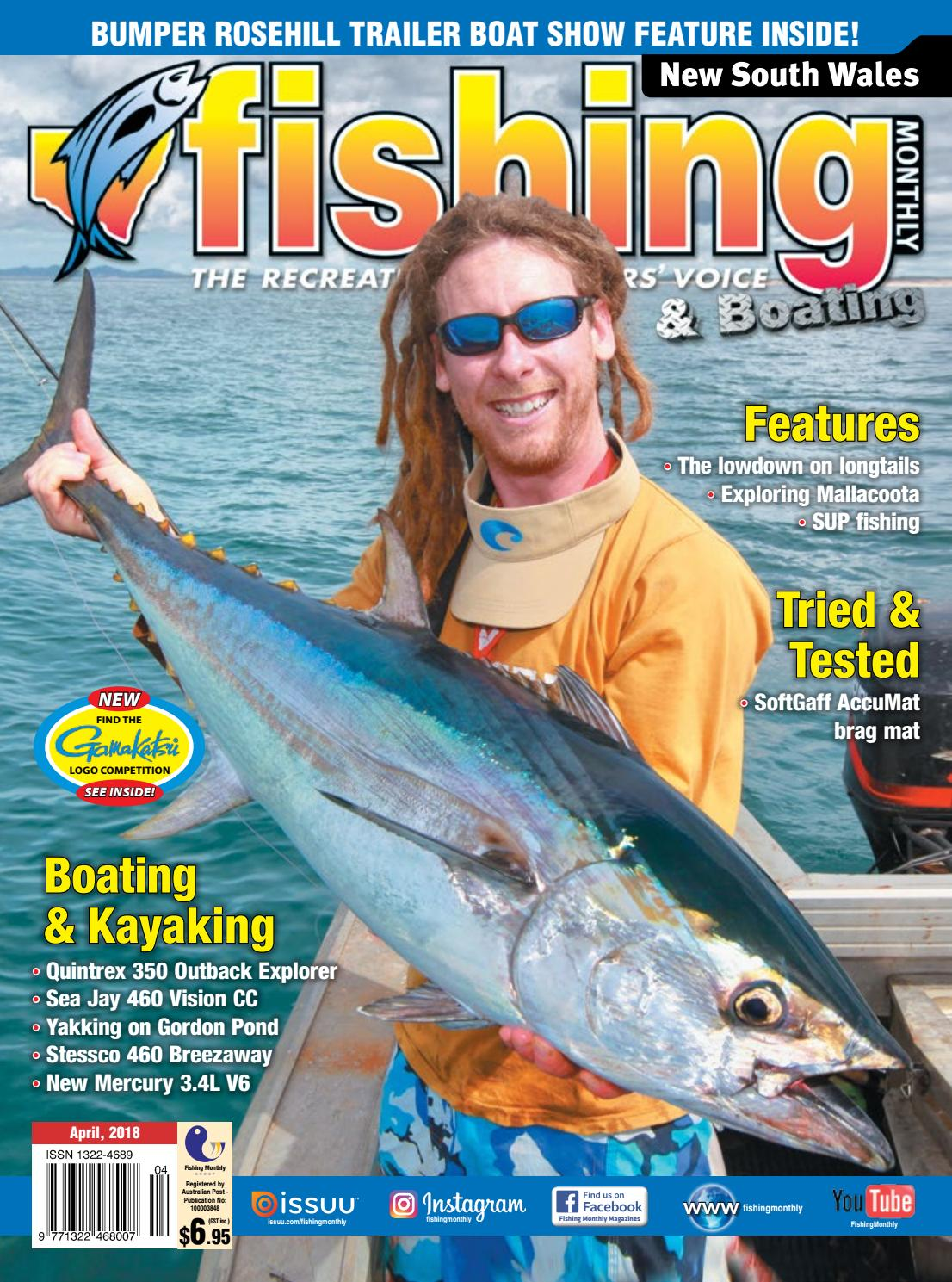 NSW Fishing Monthly April 2018 by Fishing Monthly - issuu