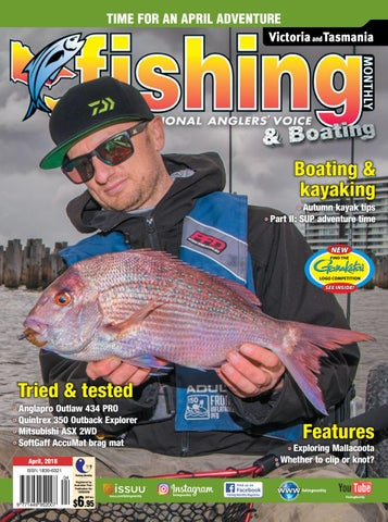 dcd1a19646 Vic Tas Fishing Monthly April 2018 by Fishing Monthly - issuu