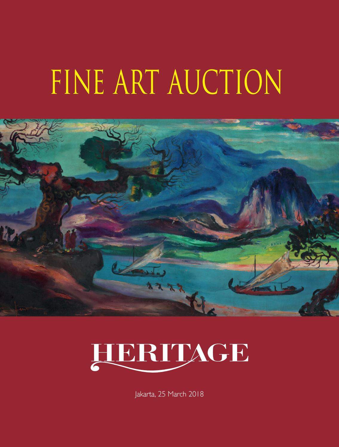 Heritage Fine Art Auction By Masterpiece Auction House Indonesia