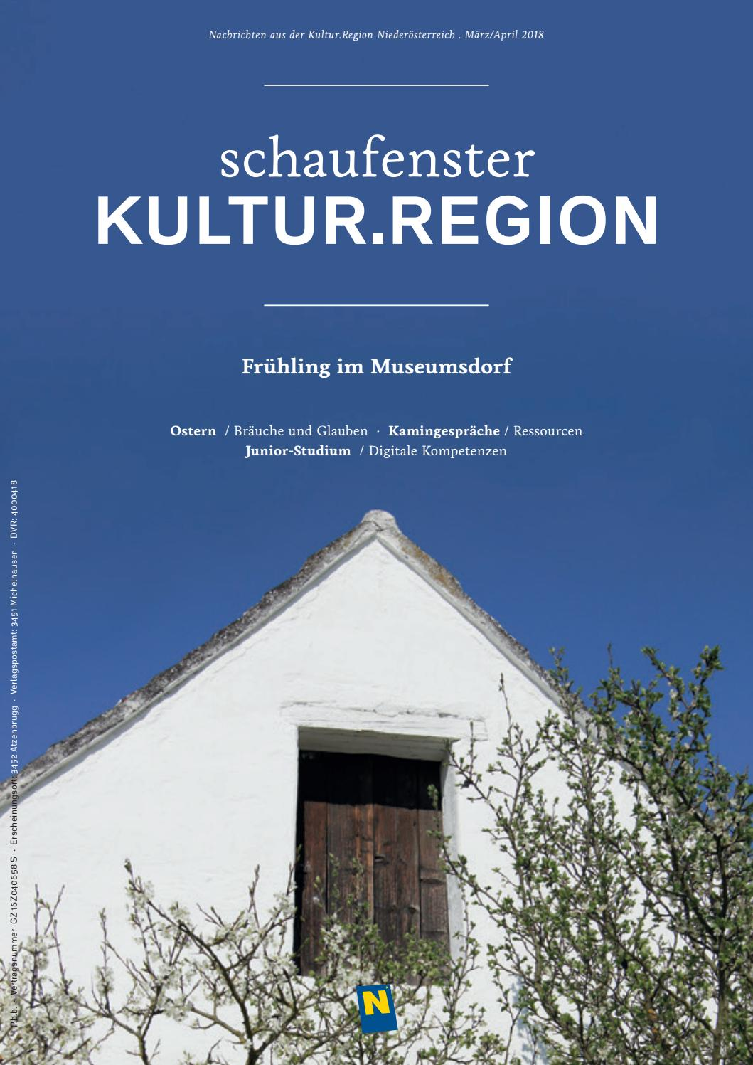 Schaufenster Kultur Region Marz April 2018 By