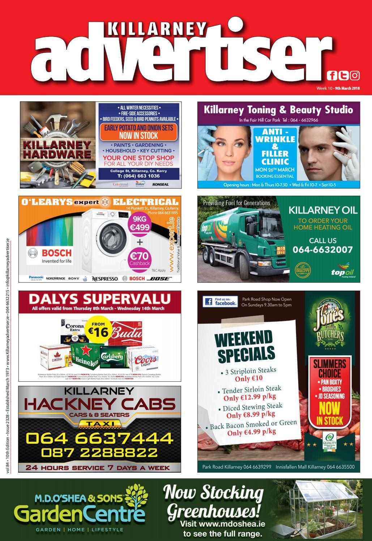 cd87ba9d0f62 Killarney Advertiser 9th March