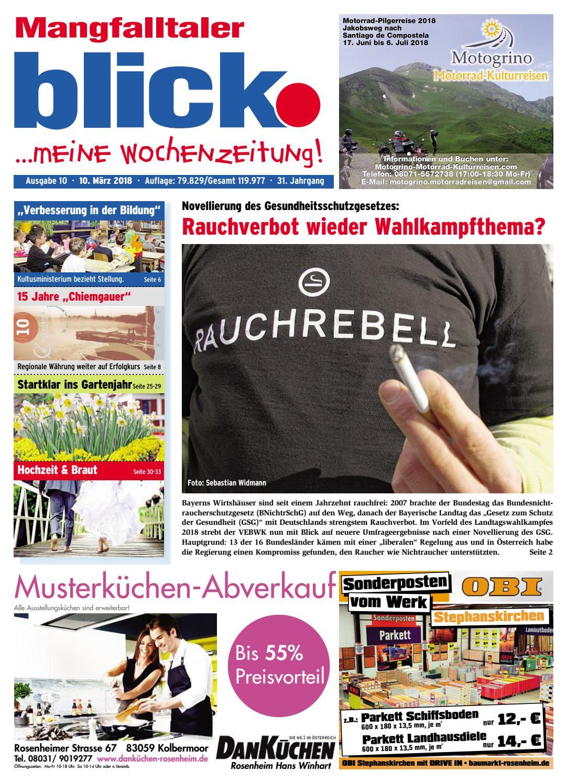 Mangfalltaler blick - Ausgabe 10 | 2018 by Blickpunkt Verlag - issuu