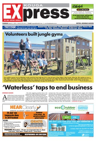 Kouga Express 8 March 2018 By Kouga Express Issuu