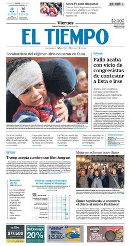 EL TIEMPO 09 03 2018 by Andres A. - issuu a278e29c000