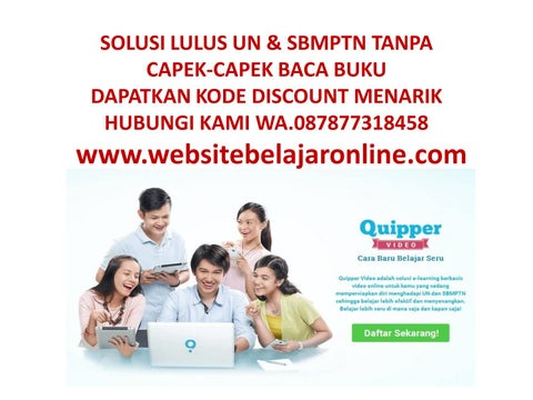 Quipper video discountwa087877318458 by quipper video promo issuu page 1 stopboris Choice Image