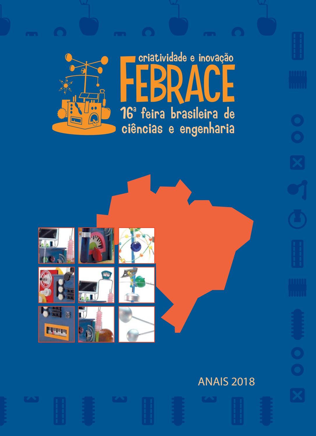 94f3a2ac269b4 Anais FEBRACE 2018 by FEBRACE - Feira Brasileira de Ciências e Engenharia -  issuu
