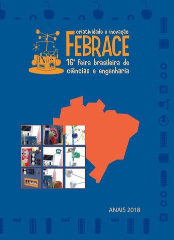 2bbfcacf4bb2f Anais FEBRACE 2018 by FEBRACE - Feira Brasileira de Ciências e ...