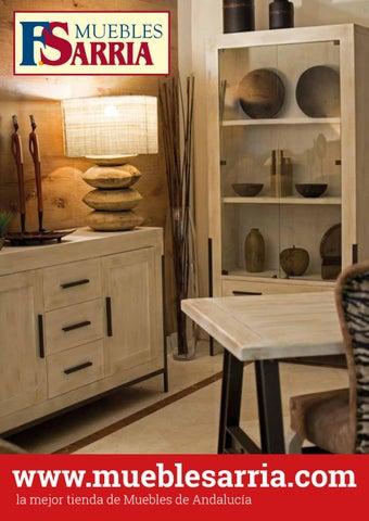 Catalogo de muebles sarria primavera 2018 by mueblessarria for Catalogo muebles sarria