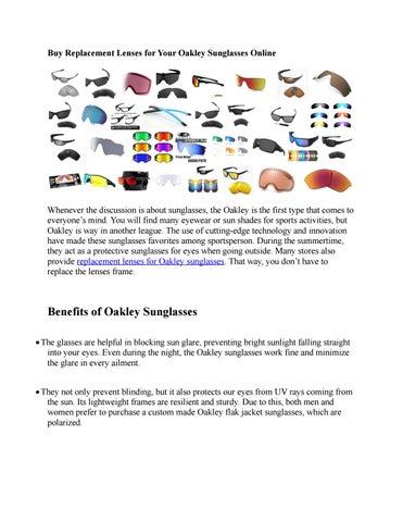 2e63cde32b5 Catalogue OAKLEY sunglasses 2014 by Muriel Bouhet - issuu