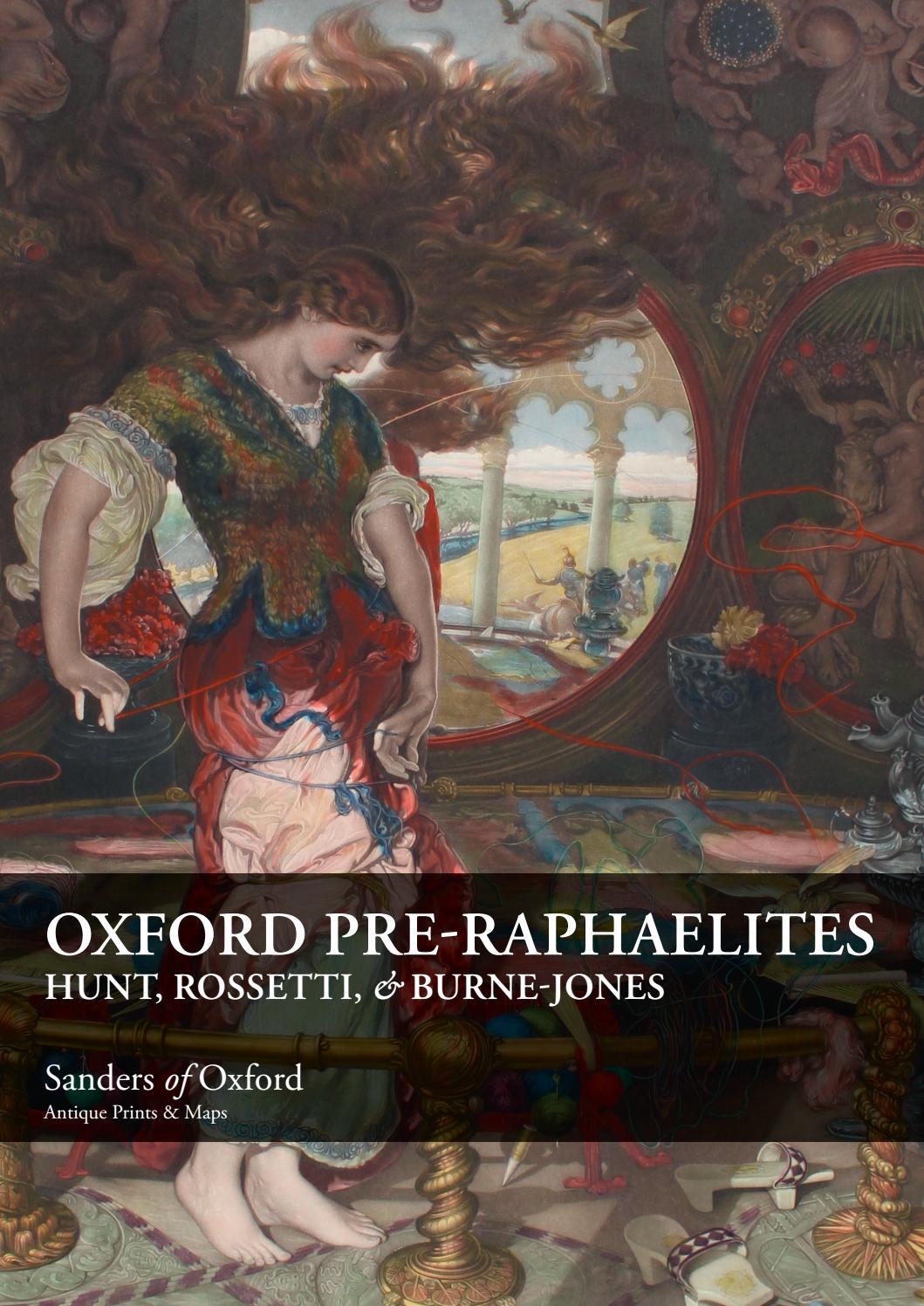 Print Edward Coley Burne Jones Pre Raphalite Flamma Vestalis