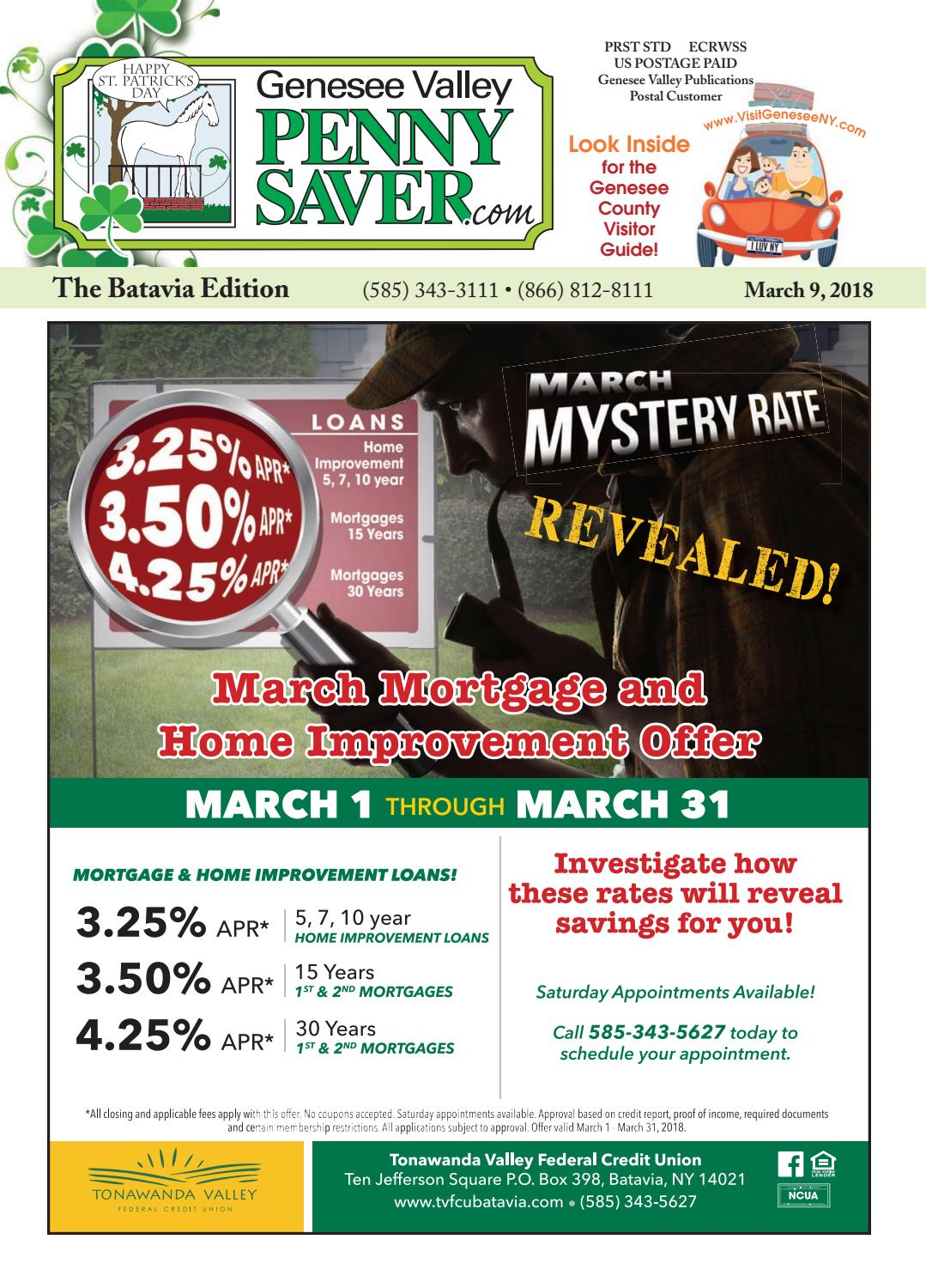 Batavia Edition - The Genesee Valley Penny Saver 3/9/18 by