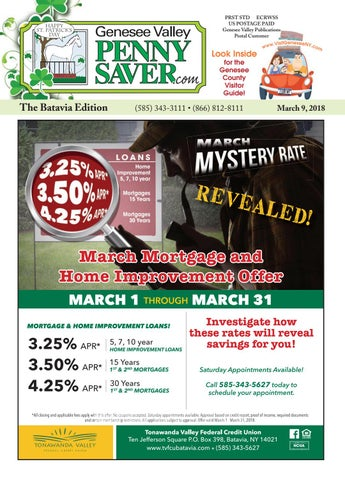 Batavia Edition The Genesee Valley Penny Saver 3918 By