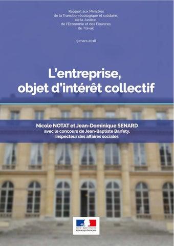 69f97b7d124289 L entreprise, objet d intérêt d collectif by Ministères sociaux - issuu