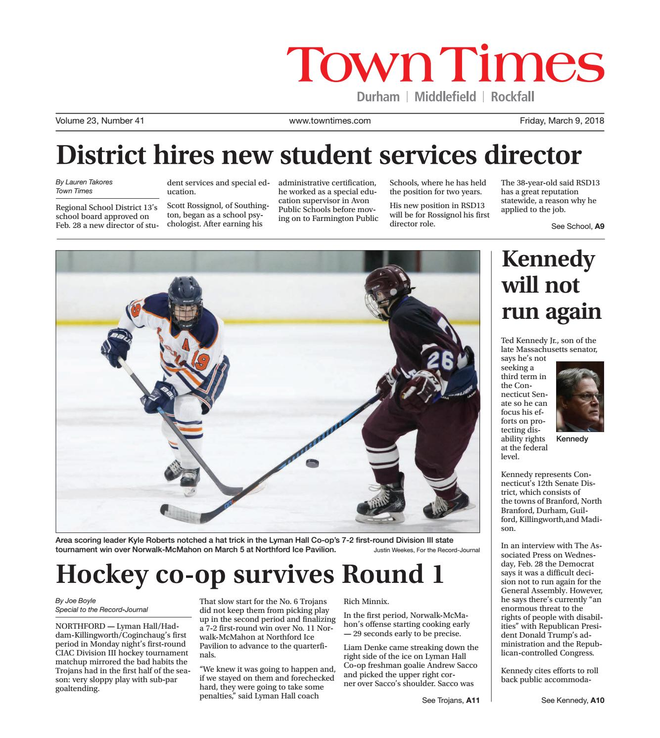 32b77214ab8 Towntimes20180309 by Town Times Newspaper - issuu