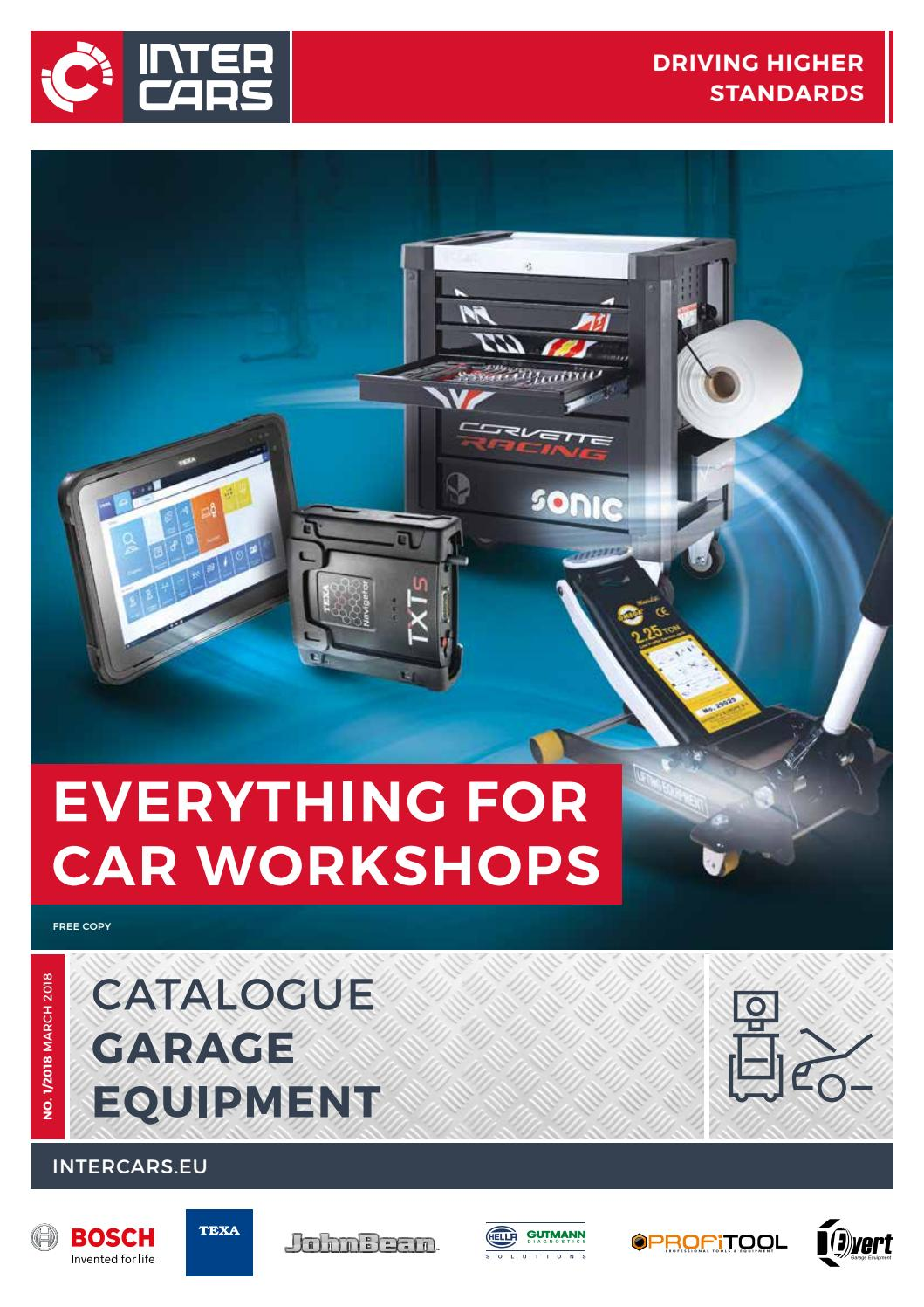 Garage Equipment Catalogue 2018 By Intercars Sa Issuu Circuit Breaker 2 Pole 25a 230v 50 60hz For Gas Diesel Generator