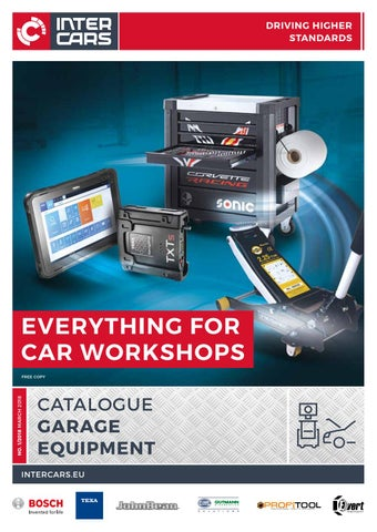 Garage Equipment Catalogue 2018 By Intercars Sa Issuu