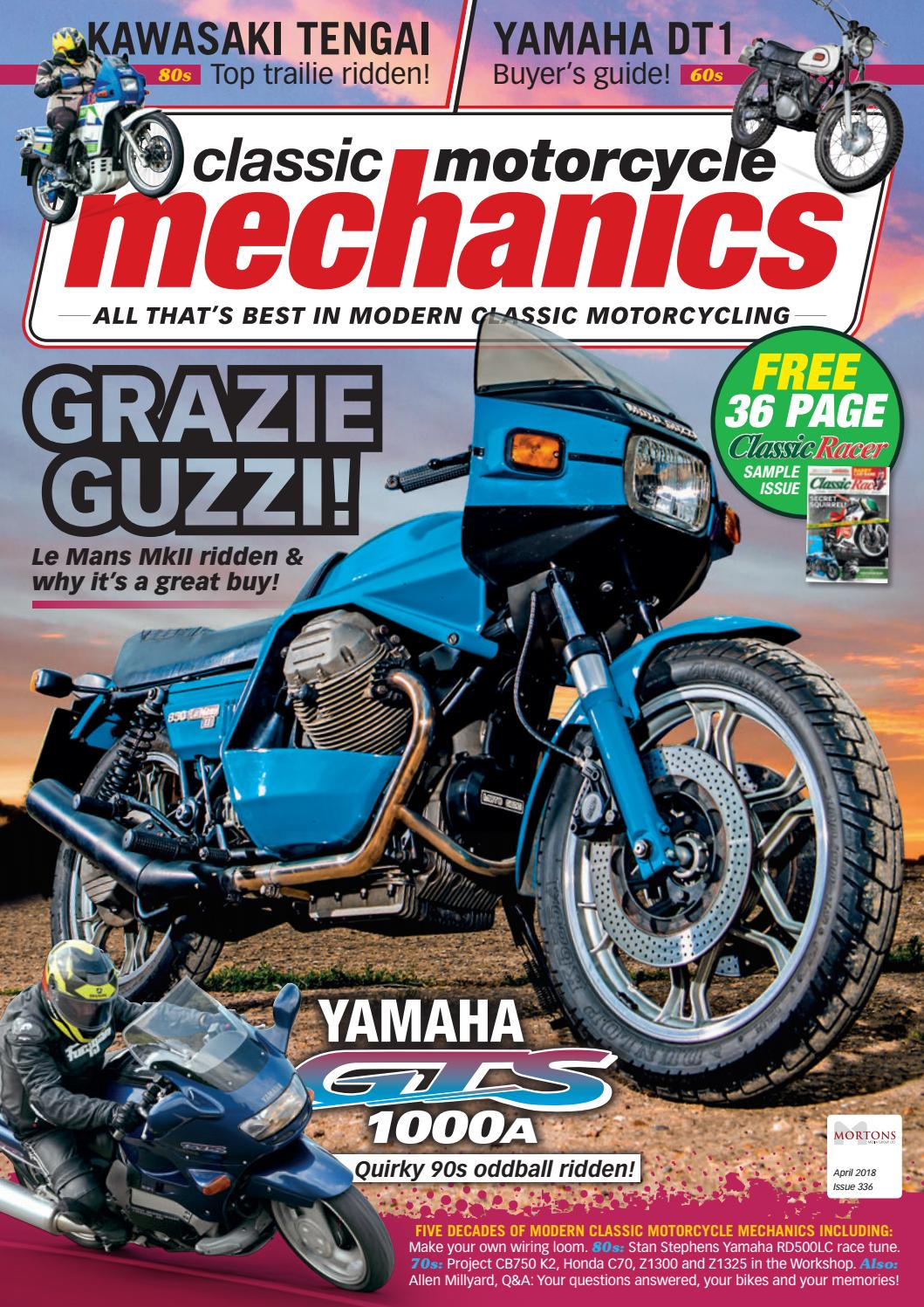 Classic Motorcycle Mechanics April 2018 By Mortons Media Group Ltd Wiring Looms Issuu